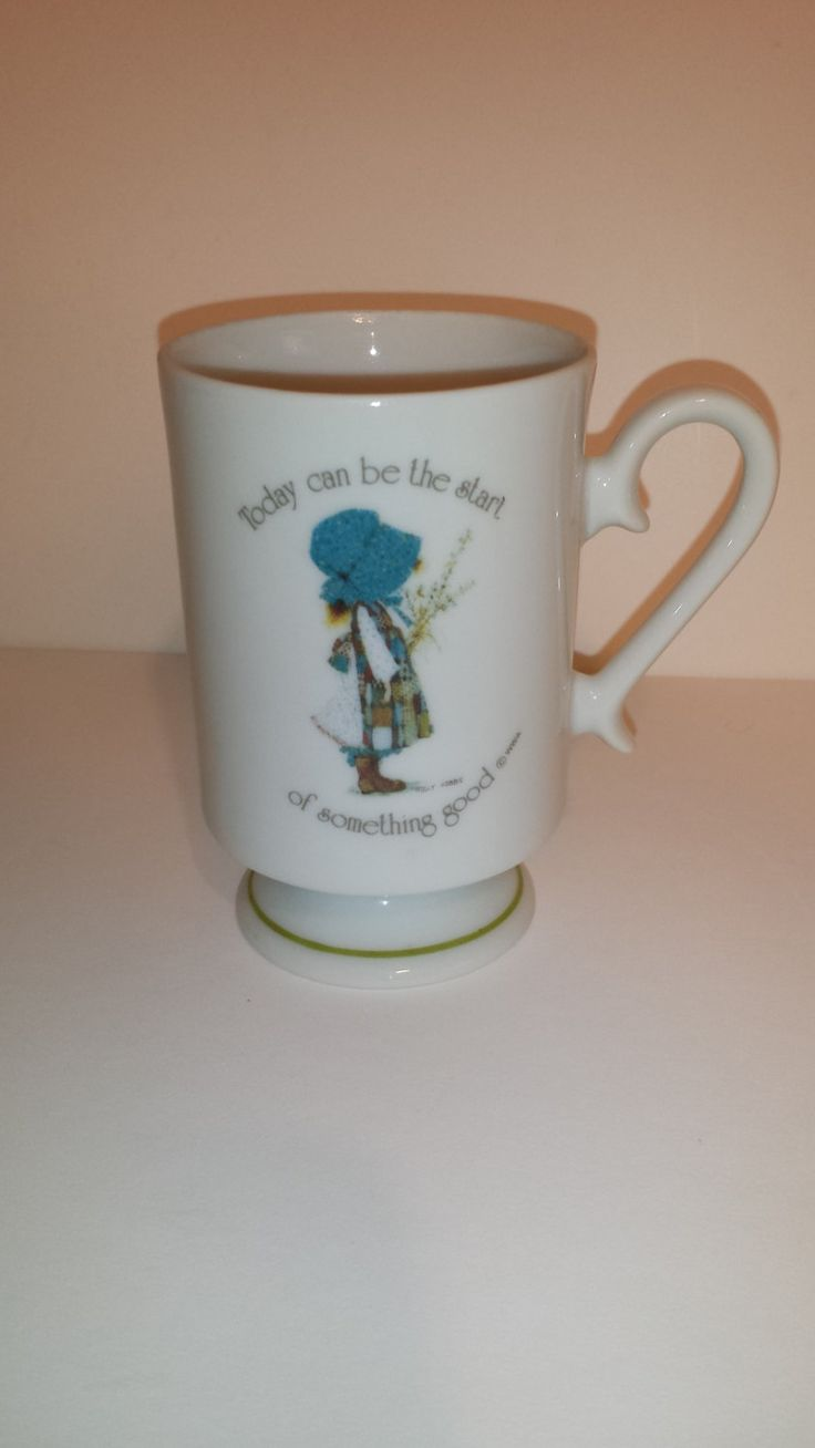 277 best holly hobbie images on pinterest holly hobbie vintage holly hobbie porcelain mug cup happiness is having someone to care for made in japan 1973 reviewsmspy