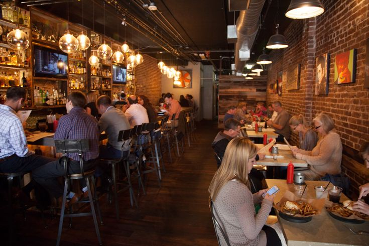 At 35 Market Sq.: This is the casual spot for burgers and bourbon and Tennessee Whiskey. I enjoyed the turkey burger and heard that the salmon burger is also great. #foodie #knoxville