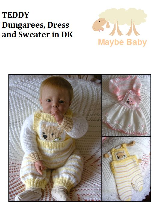 Baby Outfits - MAYBE BABY DESIGNS Knitting Patterns for Baby