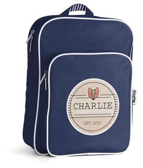 Personalized Kids Backpacks Medium ~ tinyme.com