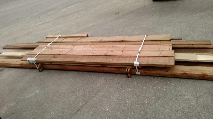 Assorted Cedar Lumber
