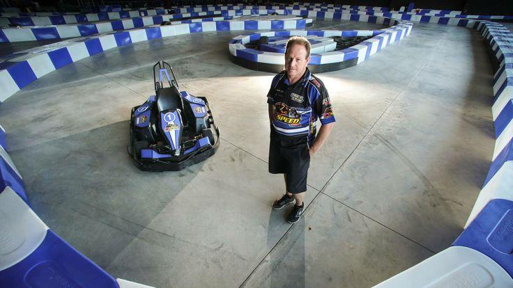 C1 Speed owner Steve Caunt at the track. Picture: ADAM McLEAN