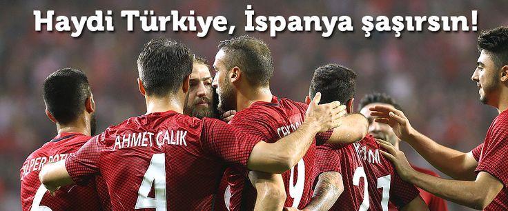 A Milliler, Euro 2016 D Grubu ikinci maçında son şampiyon İspanya ile karşılaşacak! İşte Türkiye-İspanya muhtemel 11'leri...