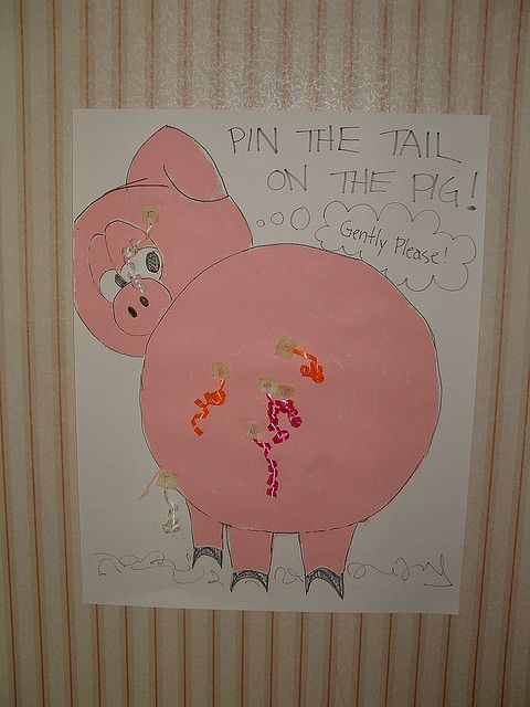 pin the tail on the pig