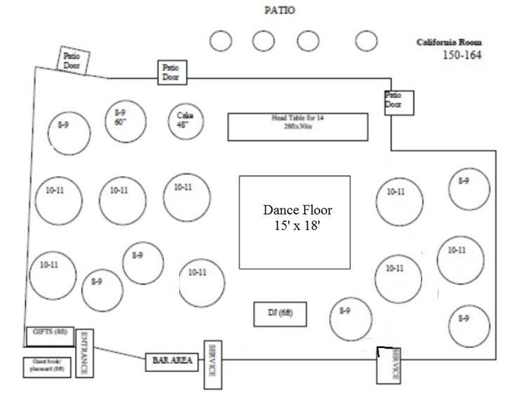 10 Ideas About Wedding Floor Plan On Pinterest
