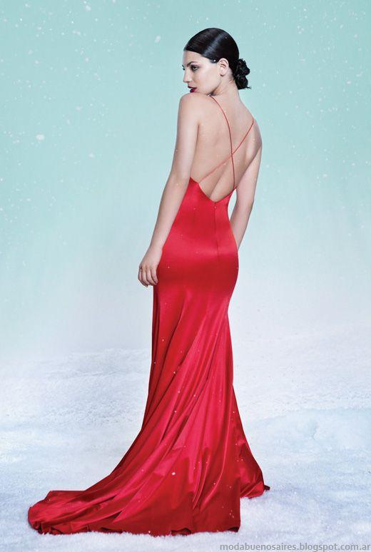 Las Oreiro vestidos de fiesta otoño invierno 2014.