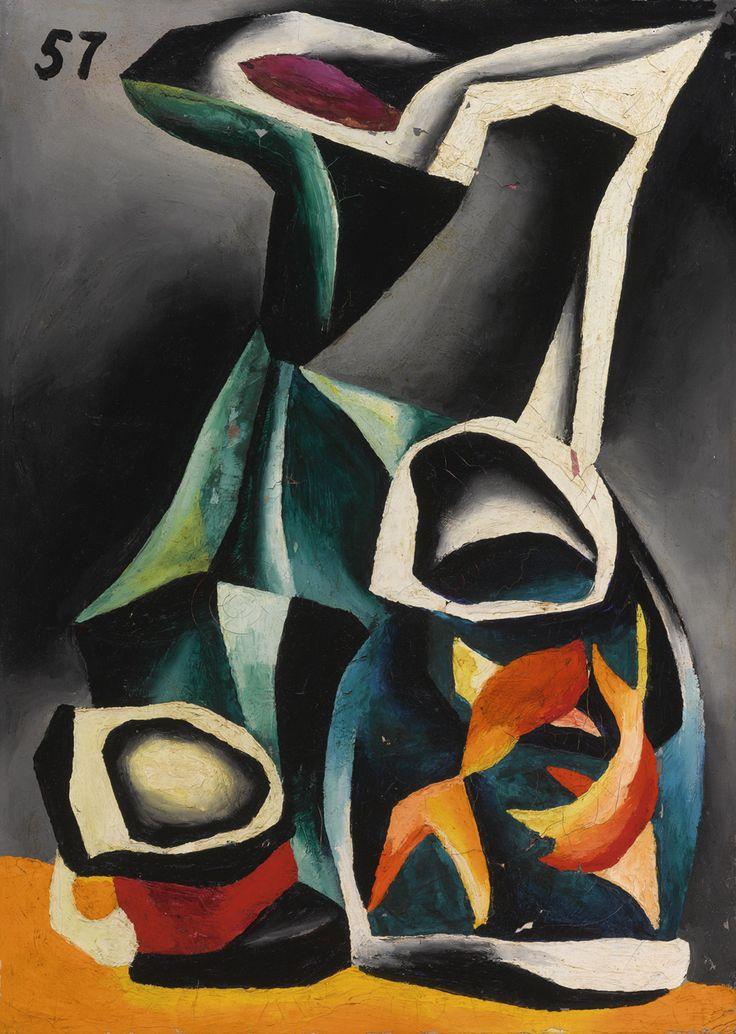Oleg Tselkov - Goldfish (1957)