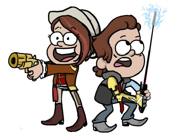 Tales From the Gravity Falls by Short-Change-Hero.deviantart.com on @DeviantArt