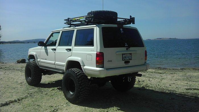 1999 Jeep Cherokee XJ 7, 33s 4x4's Pinterest Cas