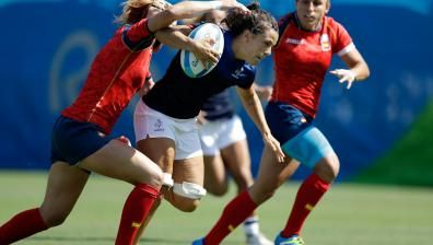 France rugby Rugby France wins first-ever Olympic rugby sevens match
