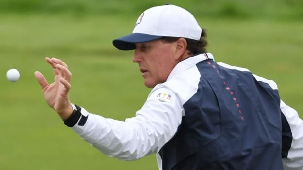 Ryder Cup 2016: Phil Mickelson apologises for criticising Hal Sutton's captaincy