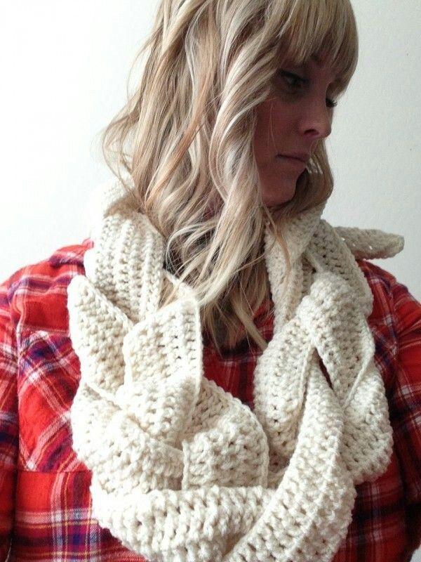 10 besten Crochet scarves Bilder auf Pinterest | Stricken häkeln ...