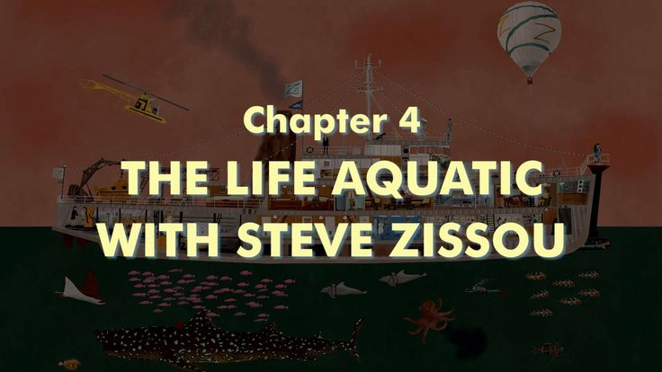 THE WES ANDERSON COLLECTION CHAPTER 4: THE LIFE AQUATIC WITH STEVE ZISSOU