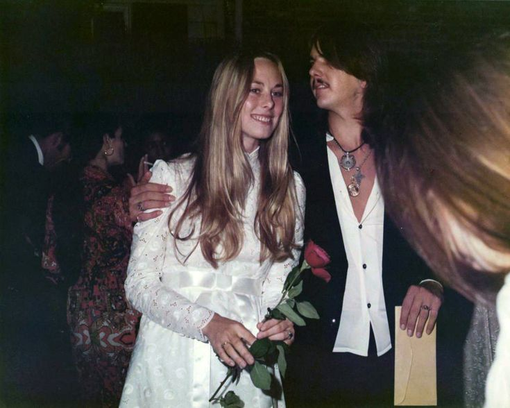 Gram Parsons Amp Gretchen Burrell 1971 Separated But Married Until His Death In 1973