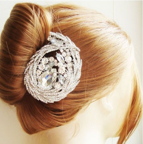 Victorian Style Wedding Hair: Victorian Style Wedding Hair Accessories