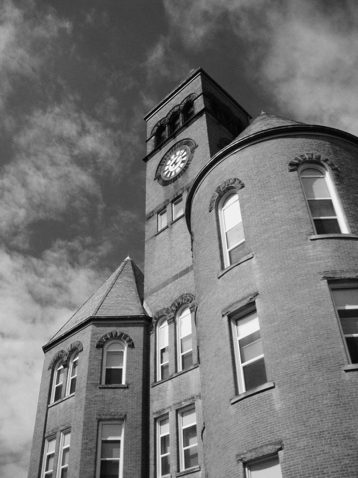 Pic Of Old Main @ Slippery Rock University, PA