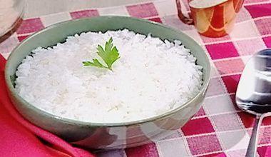 Receitas - Arroz branco e soltinho - Petiscos.com