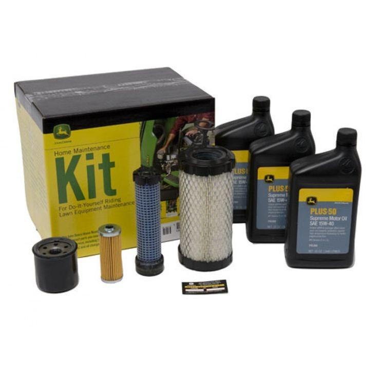 John Deere Home Maintenance Kit for Select Series (Diesel) X495, X595, X595 SE, X740, X744, X748, X749, X750, X754, X758; Gator (Diesel) 6x4, HPX 4x2, HPX 4x4, XUV 850D, XUV 855D, XUV 855D S4   RunGreen.com