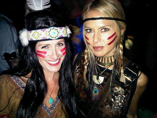Rachel Zoe: Indian Princess Costume #diy #costume #halloween