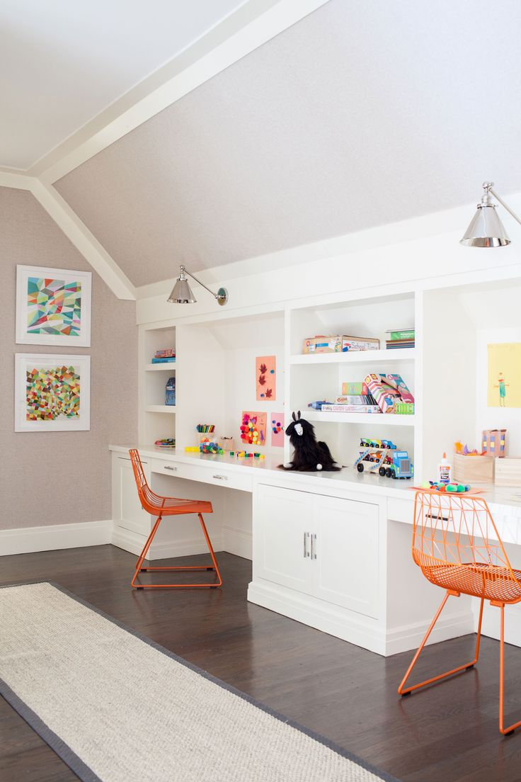 Westport Modern Farmhouse. Best 25  Built in desk ideas on Pinterest   Home study rooms  Kids