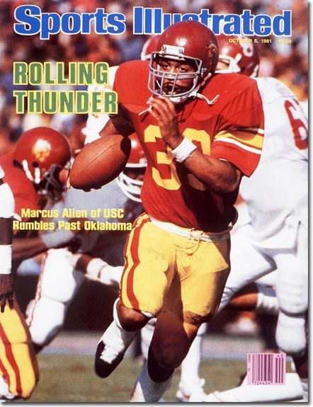 Marcus Allen, Football, USC Trojans - 10.05.81 - SI Vault