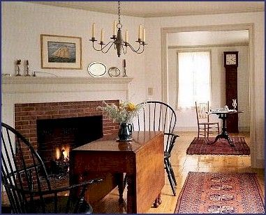 199 best colonial dining rooms images on pinterest | primitive