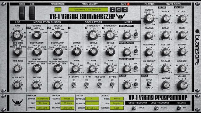 The Blamsofthas released the VK-1 Viking Synthesizer – free software VST synthesizer which emulates the Moog Voyager synthesizer. Better said it is a monophonic synthesizer with three continuously variable wave oscillators, a noise generator, two transistor ladder filters and also two modulation buses. Blamsoft is known as a developer for the Reason Rack Extension format, …