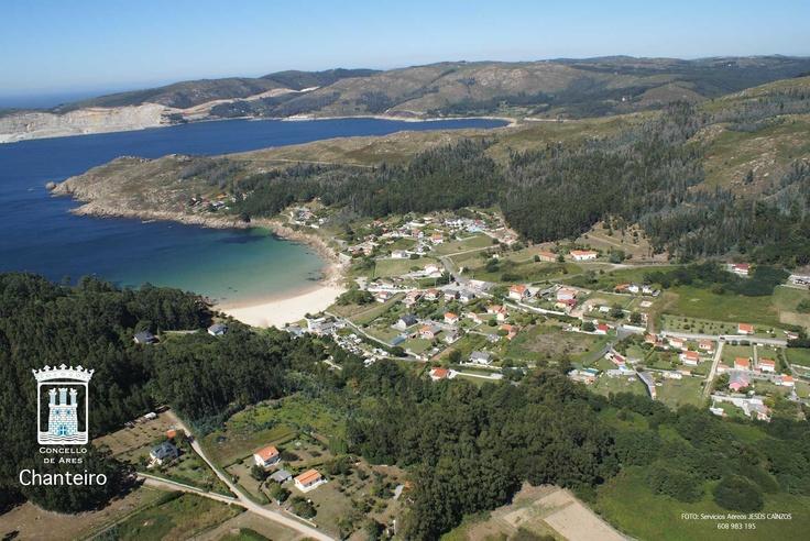 Web Oficial del Concello de Ares (A Coruña)  Playa de Chanteiro Spent many summers at this beach :)