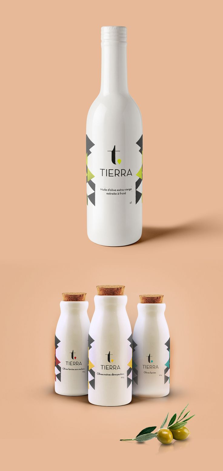 Tierra - gamme d'huile d'olive on Behance