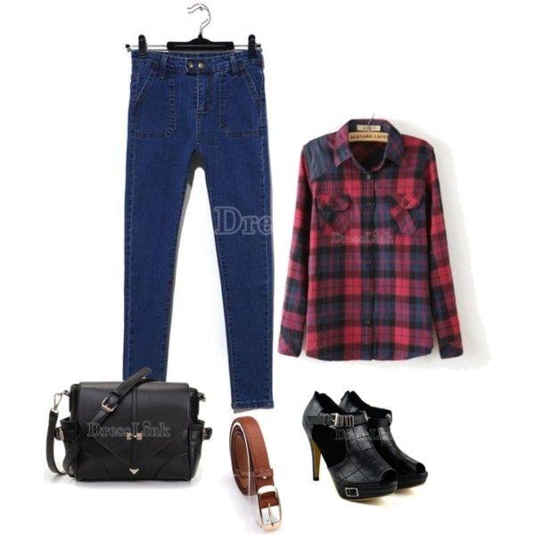 Dresslink by skezjablog on Polyvore featuring moda