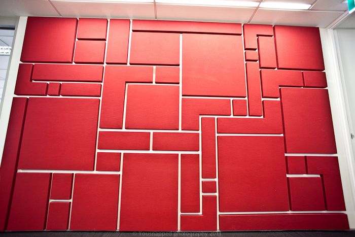 fabwall acoustic wall panels custom shaped into aztec on acoustic wall panels id=27151