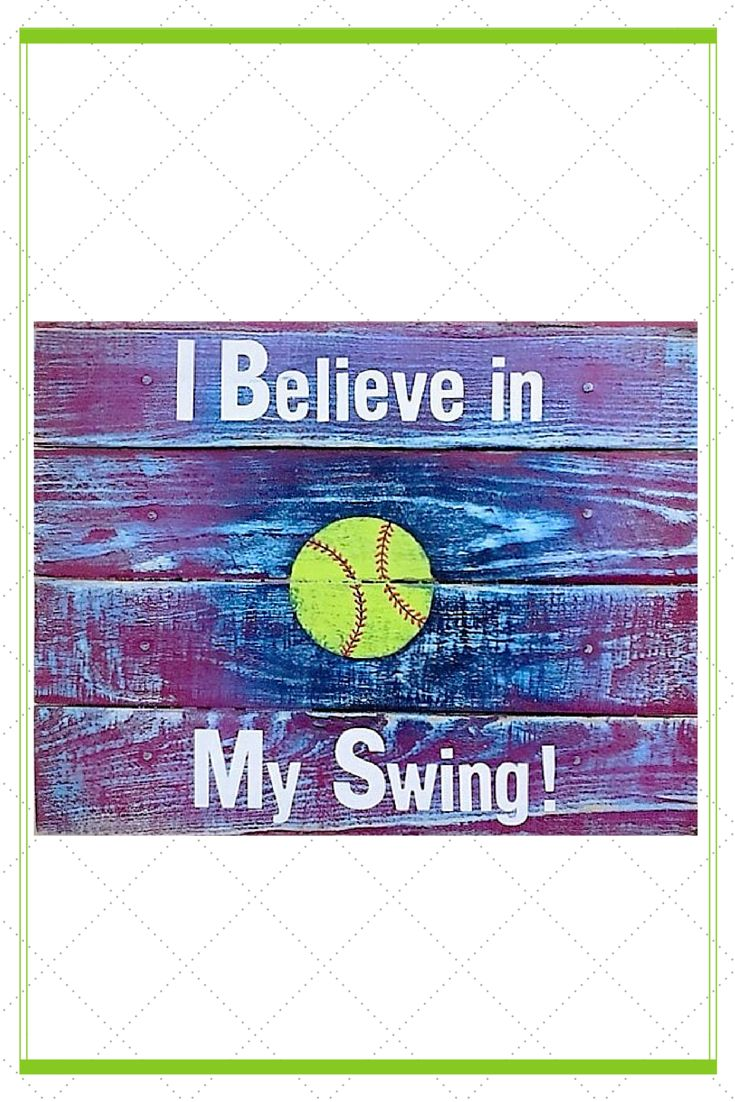 This inspirational softball sign is a great gift for your special softball player. And the perfect wall décor for a girls room. Words are powerful and these words can help give her the daily inspiration she needs to BELIEVE in herself. This sign is handmade from reclaimed wood and hand painted in a unique color scheme of purple and blue.