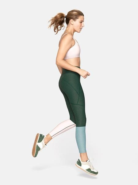 f80d3dcb43a54 7/8 Dipped Warmup Legging - High Waisted Leggings – Outdoor Voices ...