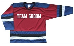 PRO TEAM STYLE HOCKEY JERSEY FOR STAG AND DOES