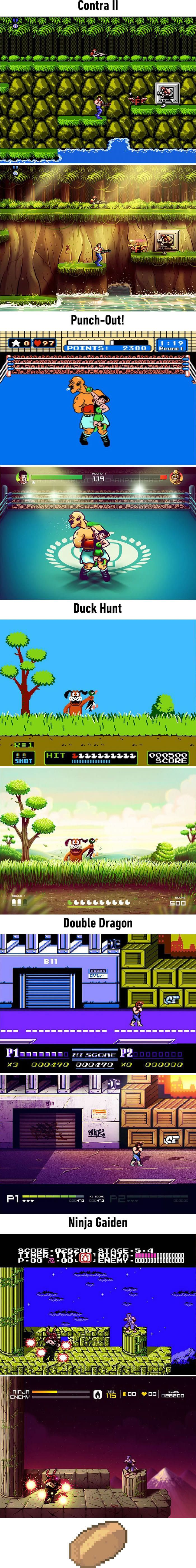 This Artist Is Giving Old Nintendo Games A Makeover, And It Looks Incredible