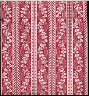 Guirlande fleurie, galon, motifs géométriques - référence n° 821 | Centre de documentation des musées - Les Arts Décoratifs