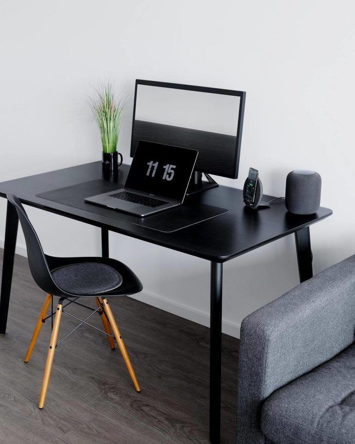 Black Desk 60 Templates To Personalize The Home Office Best