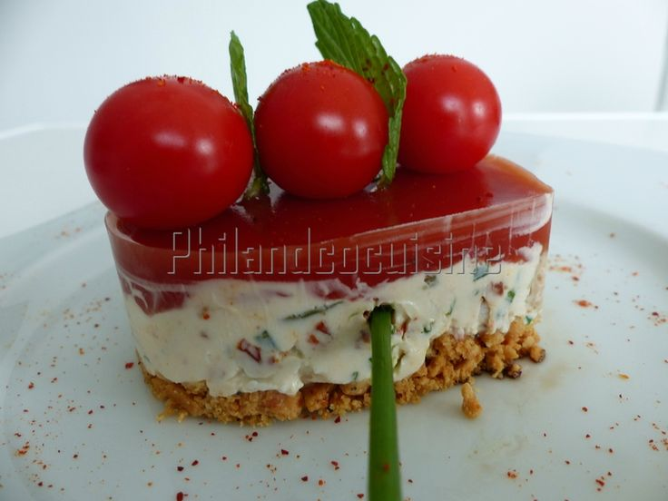 Coeur fromager à la tomate au chèvre et au chorizo | Recette Soignon