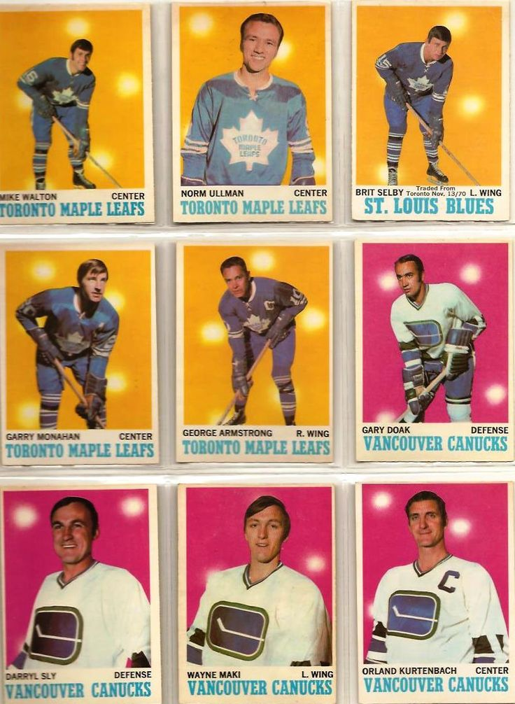 109-117 Mike Walton, Norm Ullman, Brit Selby, Garry Monahan, George Armstrong…