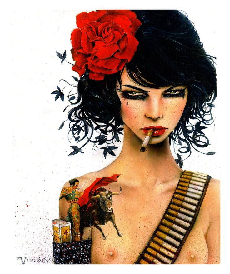 Mess With The Bull by Brian Viveros  http://www.brianmviveros.com/