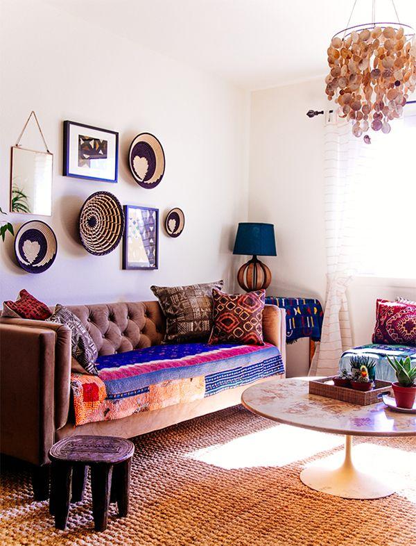 Nomadic Decorator | Global Style: African Stools | http://nomadicdecorator.com