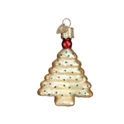 """Spritz+Cookie+Christmas+Ornament+-+Christmas+Tree+32190+Merck+Family's+Old+World+Christmas+Size:+2+3/4""""+Includes+Free+Gift+Box+Hang+Tag:+The+Spritz+Cookie+glass+ornaments+embody+one+"""