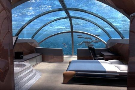 Jules Undersea Lodge, Florida.
