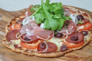 LCHF Fat Head Pizza - Thermo Foodie And The Chef