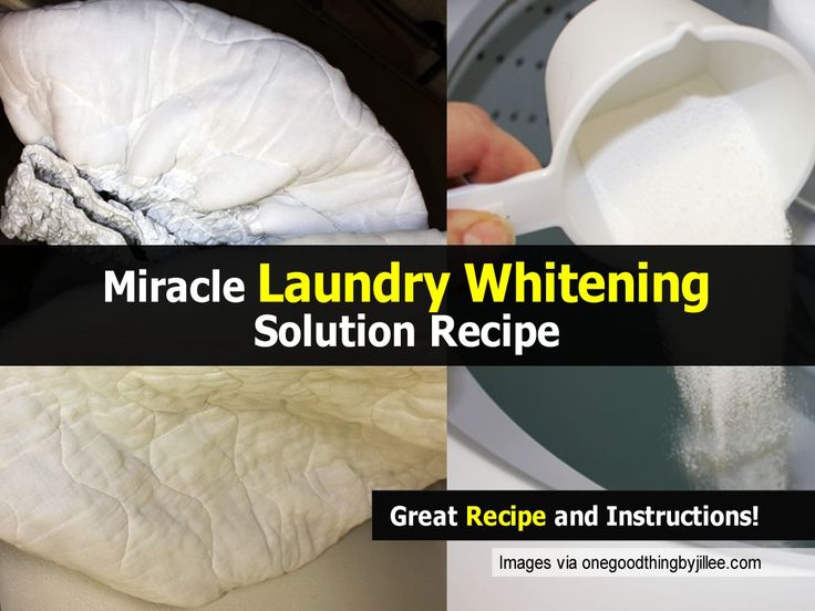Miracle Laundry Whitening Solution