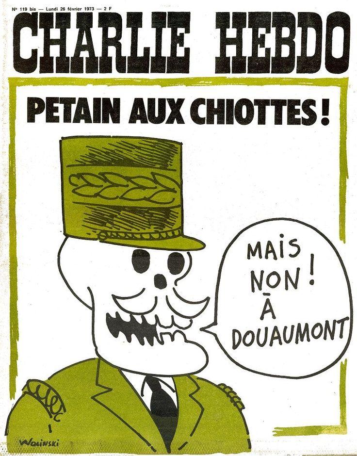 Charlie Hebdo - # 119 Bis - 26 Février 1973 - Couverture : Wolinski
