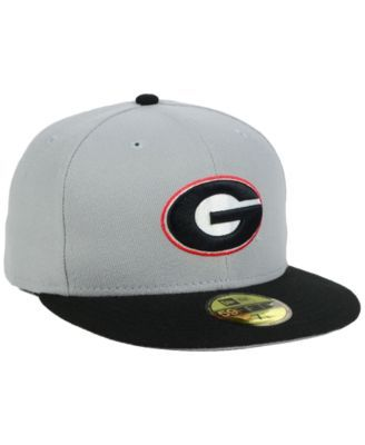 New Era Georgia Bulldogs Grayson 59FIFTY Fitted Cap - Gray 6 7/8