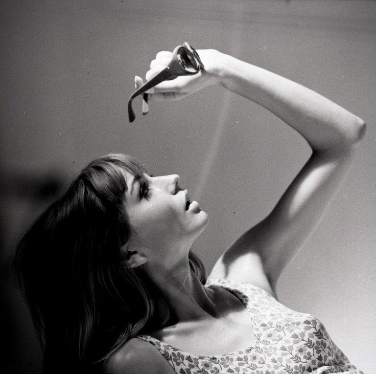 Tadeusz Rolke, Heidi, a fashion model, photographed in Paris, 1965.