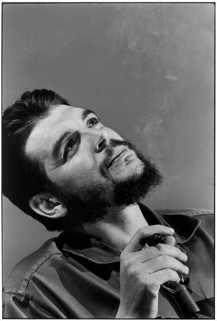 Che Guevara  by Elliott Erwitt   (CUBA. Havana. 1964. )