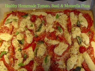 Tomato basil mozzarella, Tomato basil and Pizza you on Pinterest